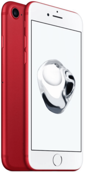 Refurbished iphone 7 rood 3d