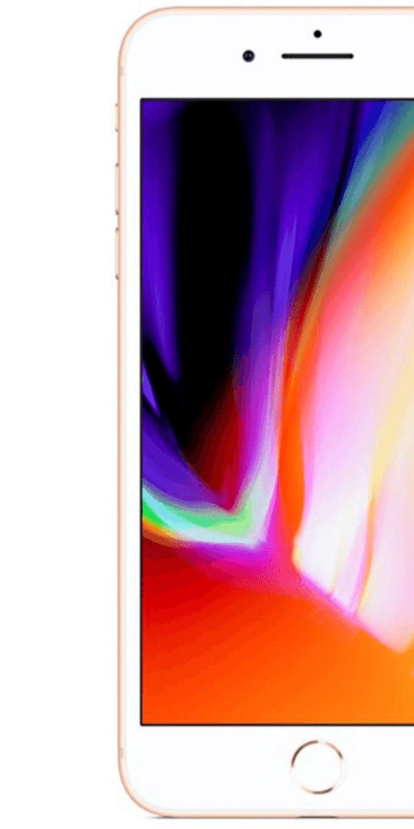 Refurbished iPhone 8 Plus goud