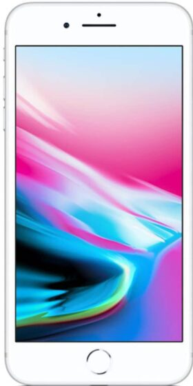 Refurbished-iPhone-8-Plus-64GB-Silver wit