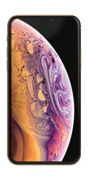 Refurbished iphone Xs 256gb goud voorkant