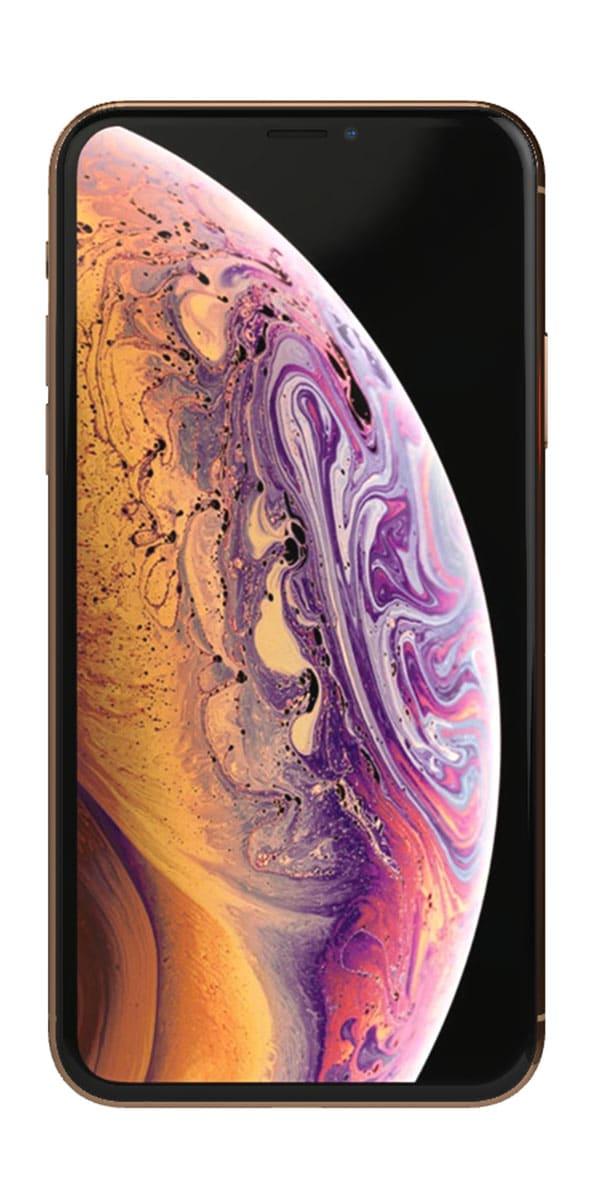 Refurbished iphone Xs 256gb goud voorkant