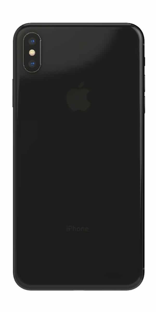 Refurbished iphone Xs 256gb zwart achterkant