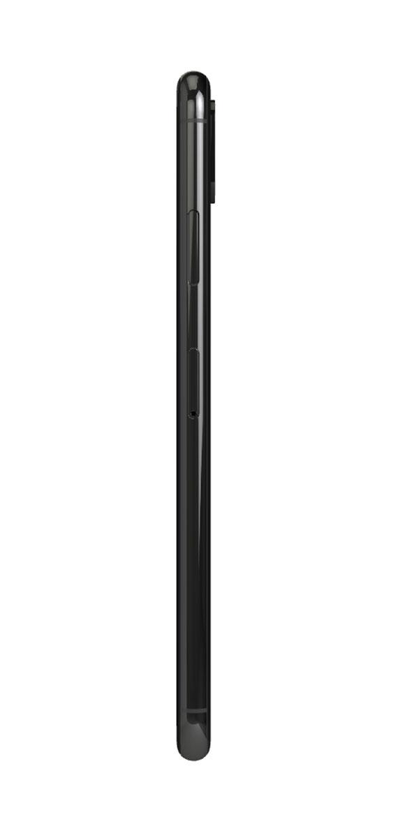 Refurbished iphone Xs 256gb zwart zijkant