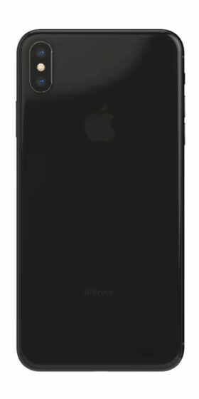 Refurbished iPhone Xs 64gb zwart achterkant