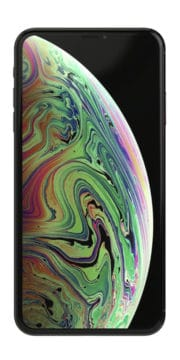 Refurbished iPhone Xs 64gb zwart voorkant