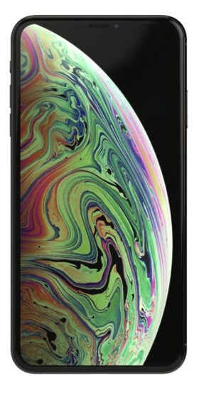 Refurbished iphone Xs Max 64gb zwart voorkant