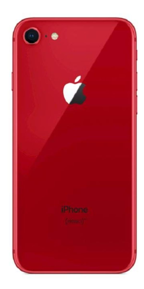 iPhone 8 256GB Rood achterkant