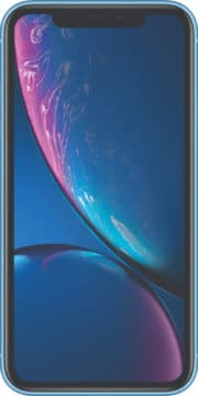 Refurbished iPhone Xr Blauw voorkant