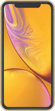 Refurbished iPhone Xr Geel voorkant