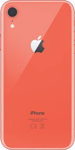 Refurbished iPhone Xr Koraal achterkant