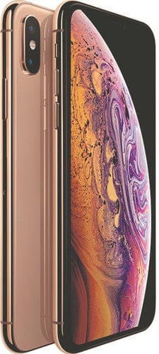 Refurbished iPhone Xs goud 3d