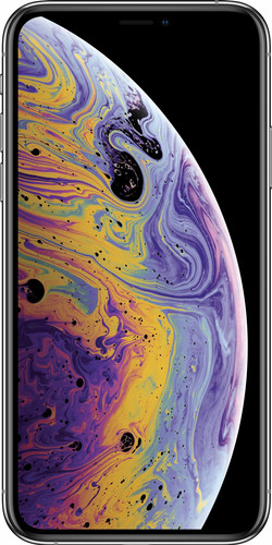 Refurbished iPhone Xs zilver voorkant
