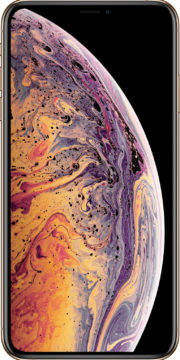 refurbished iphone xs max goud voorkant