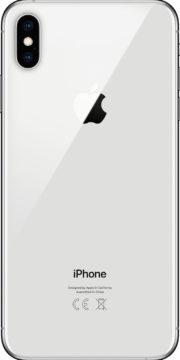 refurbished iphone xs max zilver achterkant
