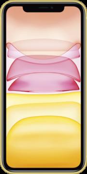 Refurbished iPhone 11 128gb geel voorkant