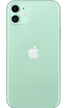 Refurbished iPhone 11 128gb Groen achterkant