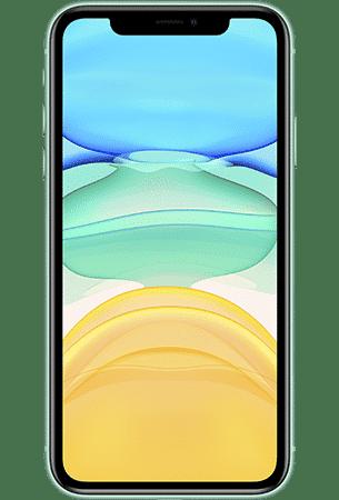 Refurbished iPhone 11 128gb Groen voorkant