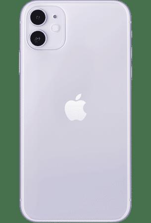 Refurbished iPhone 11 128gb Paars achterkant