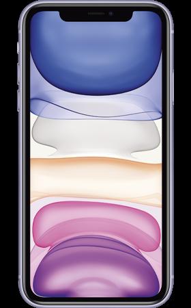 Refurbished iPhone 11 128gb Paars voorkant