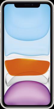 Refurbished iPhone 11 128gb wit voorkant