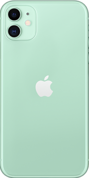 Refurbished iPhone 11 64gb Groen achterkant