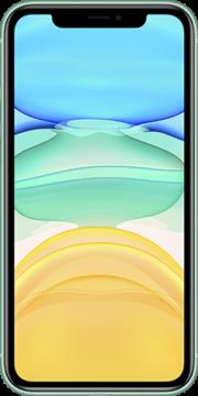 Refurbished iPhone 11 64gb Groen voorkant