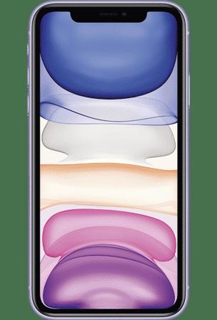 Refurbished iPhone 11 64gb Paars voorkant