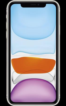 Refurbished iPhone 11 64gb wit voorkant