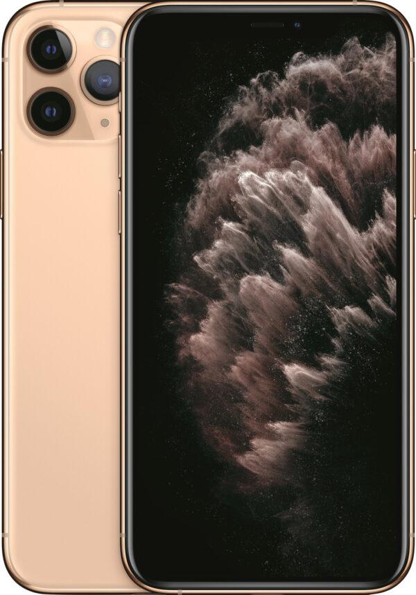 iPhone-11-Pro-Gold-Goud-Voorkant-Mobico