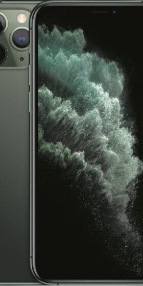 iPhone-11-Pro-Midnight-green-Middernachtgroen-Voorkant-Mobico