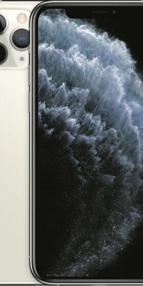 iPhone-11-Pro-Zilver-Voorkant-Mobico